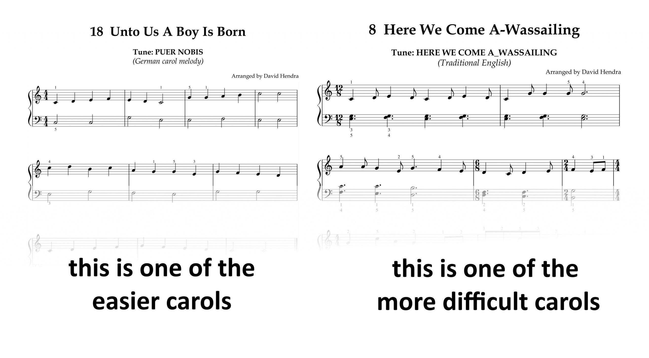 Carols Book Two SAMPLES