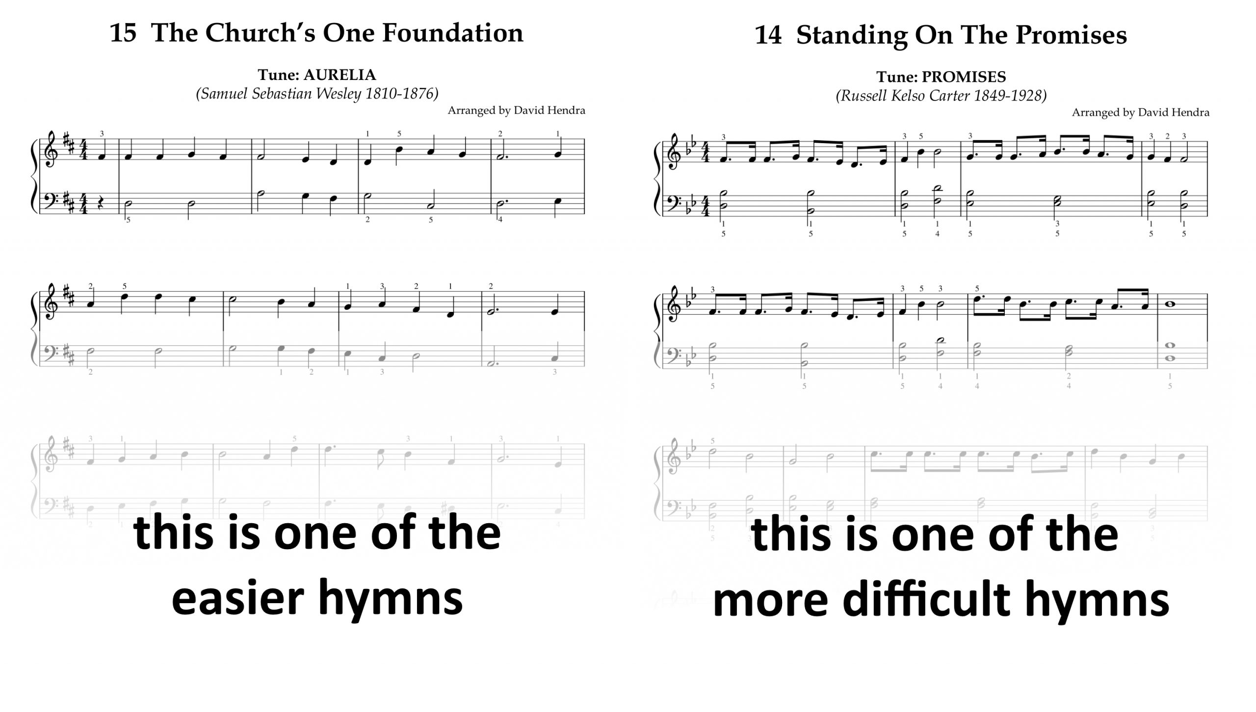 Hymns Book One SAMPLES