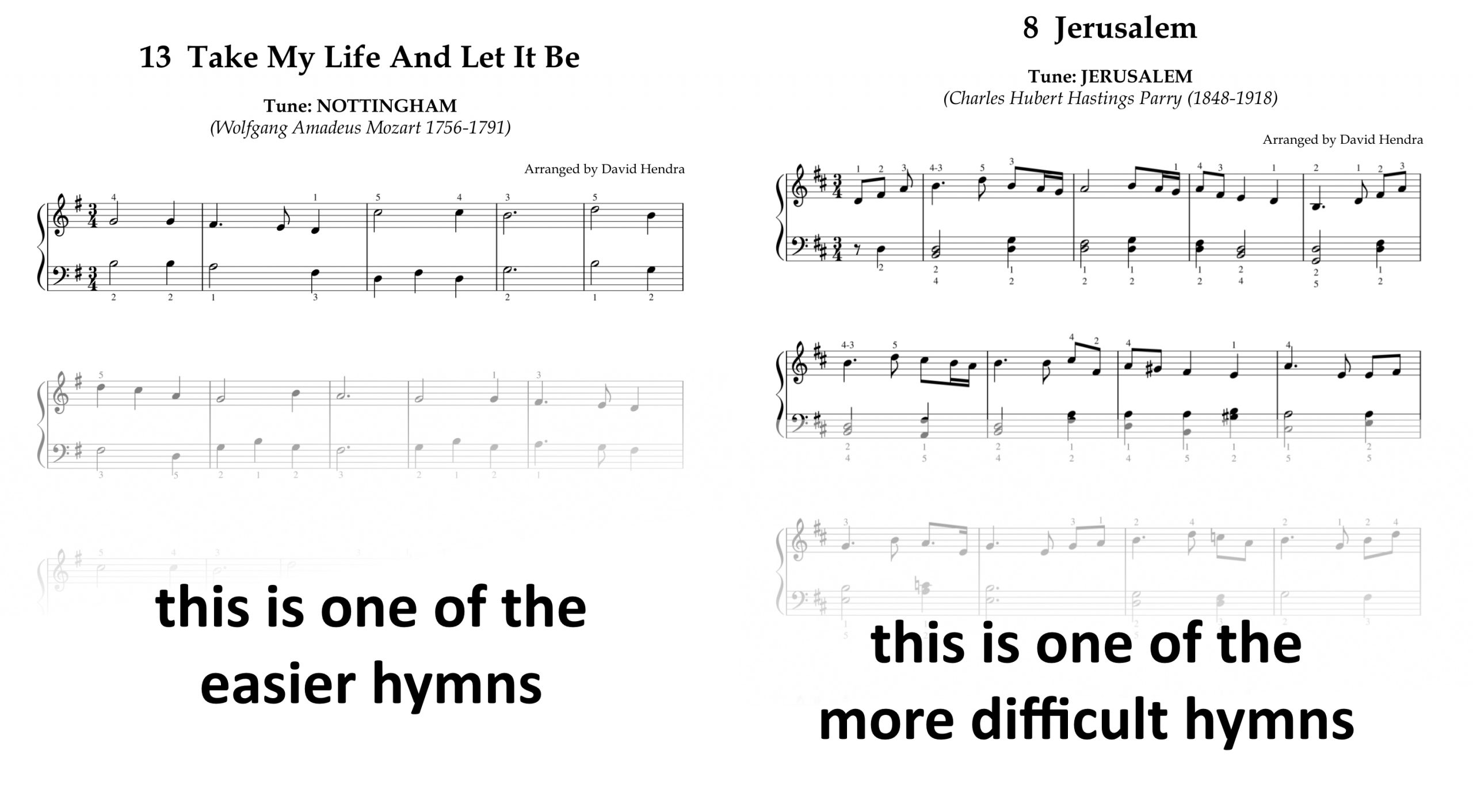 Hymns Book Two SAMPLES