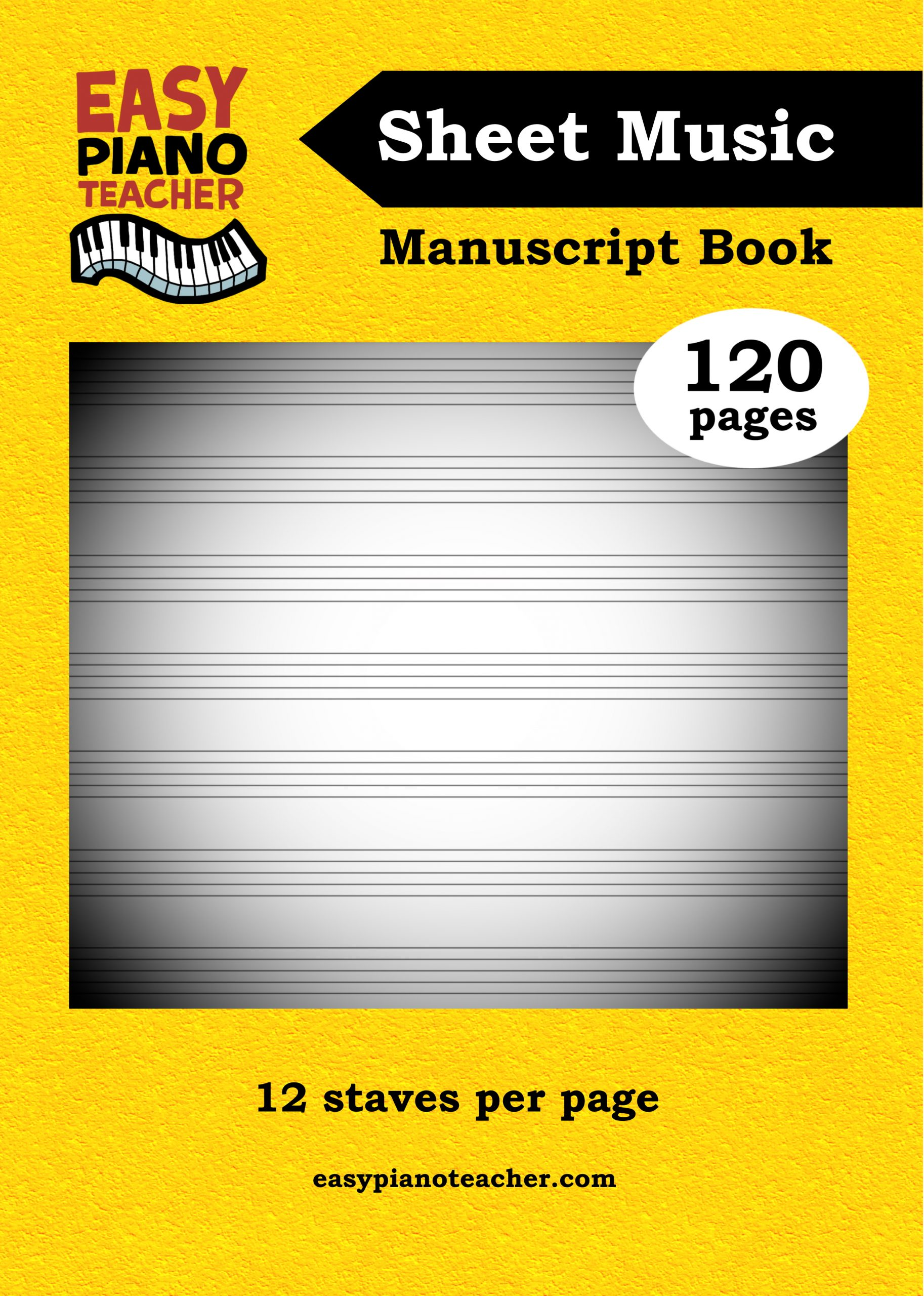 Manuscript book FRONT COVER ONLY
